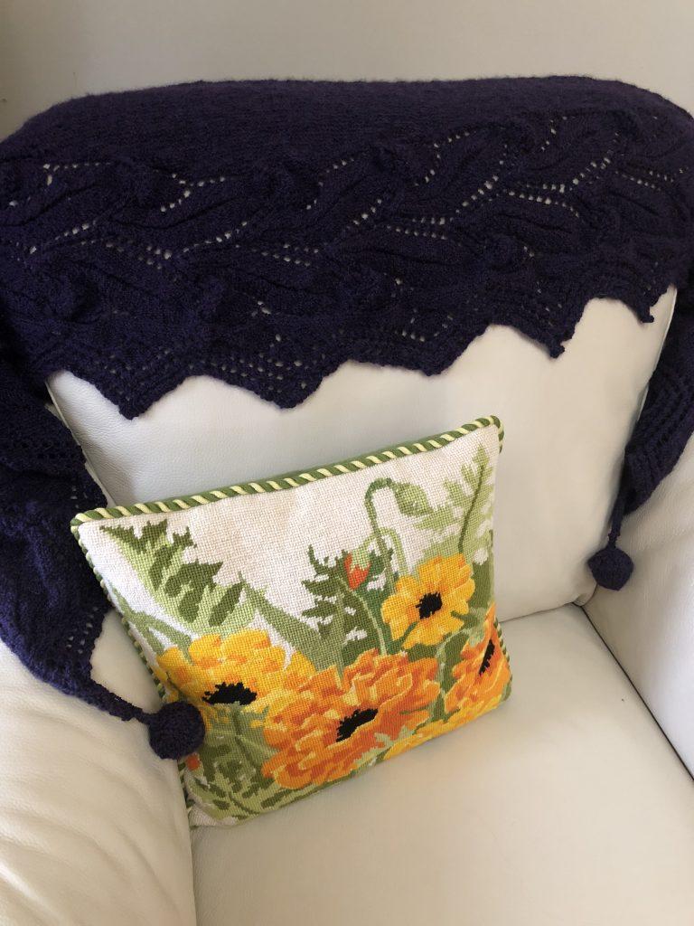 Oak leaf and acorn lace knit - Oakberry Pattern