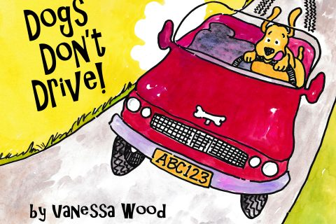 Dogs Dont Drive the book is here